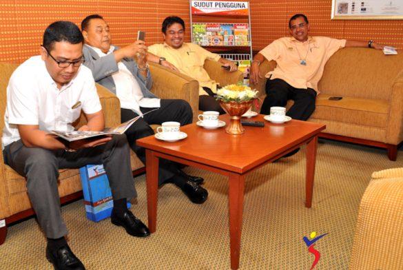 Program Kunjung Hormat Bertemu KSU KPDNKK Yang Juga Mantan Pengerusi Yakeb