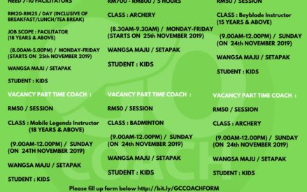 Vacancy for Sports Coach