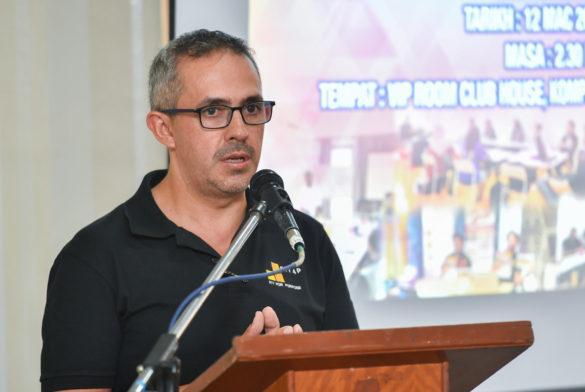 Majlis Menandatangani Perjanjian Persefahaman antara Yayasan Kebajikan Atlet Kebangsaan dan Agitos PLT