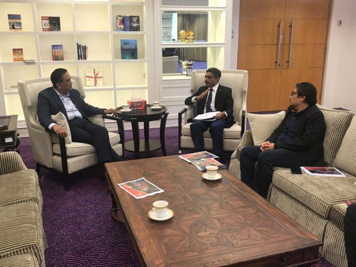 Sesi Kunjungan Hormat bertemu Yb. Datuk Seri Reezal Merican Naina Merican Menteri Belia dan Sukan
