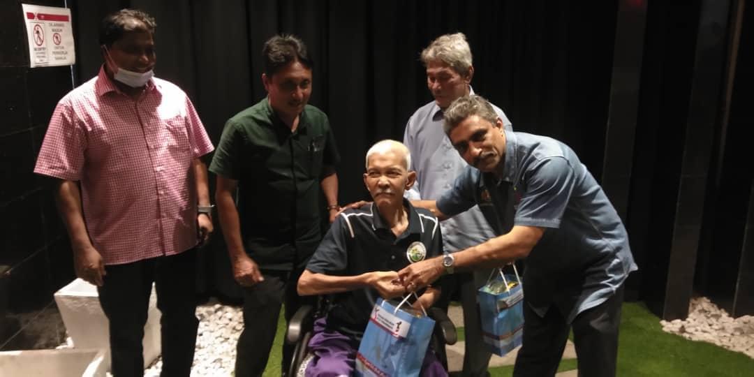 Aktiviti Visit & Treat Skuad Yakeb Prihatin Ziarah Datuk Namat Abdullah, Datuk ' Abdul Shukor bin Saleh, Datuk Mohd Bakar, Johari Maina & Mohd Nor Ali