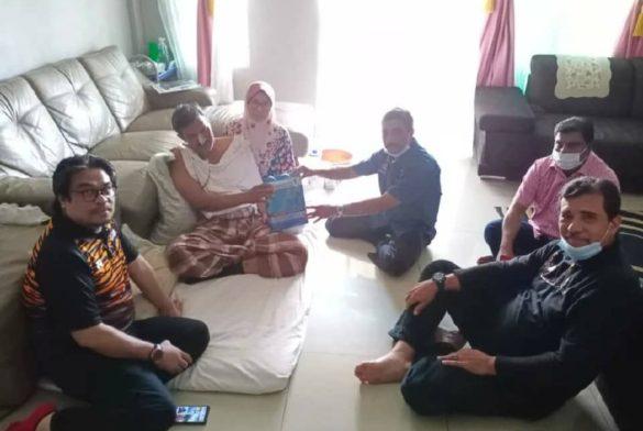 Aktiviti Visit & Treat Ziarah Ahmad Sofian Ahmad Zolkifli bekas atlet hoki negara