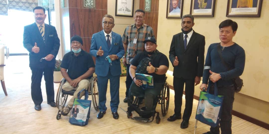 Kunjungan Hormat Wakil Yayasan Kebajikan Atlet Kebangsaan (YAKEB) Bertemu YB Timbalan Menteri Perumahan dan Kerajaan Tempatan