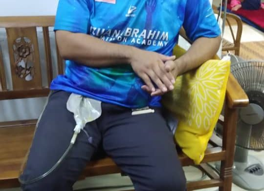 Visit & Treat Skuad Prihatin Yakeb – Menziarah Kamiley Ngah Bekas Atlet Bola Baling Negara (Sukan SEA 2003 & 2007)