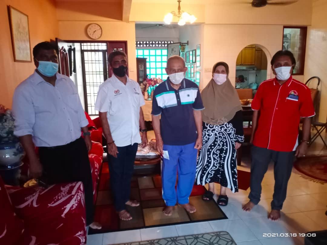 Visit & Treat Skuad Yakeb ke P.Pinang dan Kedah (Waris Allahyarham Dato' Namat Abdullah, Waris Allahyarham Dato' Mohammed Bakar, Dato' M Kuppan & Dato' Shukor Salleh)