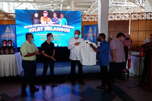 Majlis Penyampaian Sumbangan Makanan Tambahan Kepada Atlet & Bekas Atlet Selangor