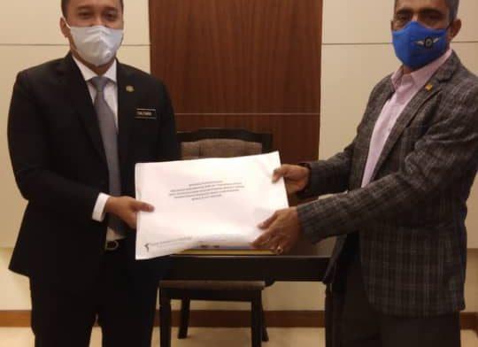 Program Kunjungan Hormat YAKEB Bertemu Timbalan Menteri Perumahan dan Kerajaan Tempatan – YB Datuk Seri Dr Ismail Abdul Muttalib