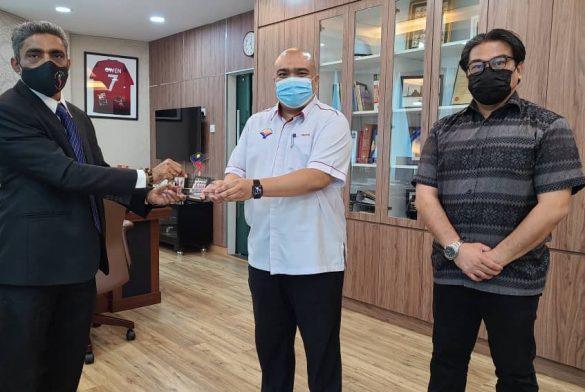 Kunjung Hormat Bertemu Ketua Pegawai Eksekutif Yayasan Wilayah Persekutuan