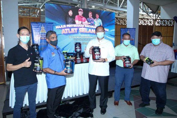 Majlis Penyerahan Makanan Tambahan Kepada Atlet & Bekas Atlet Selangor